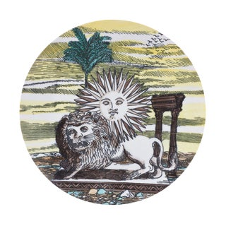 Fornasetti Plate from Tony Duquette Estate
