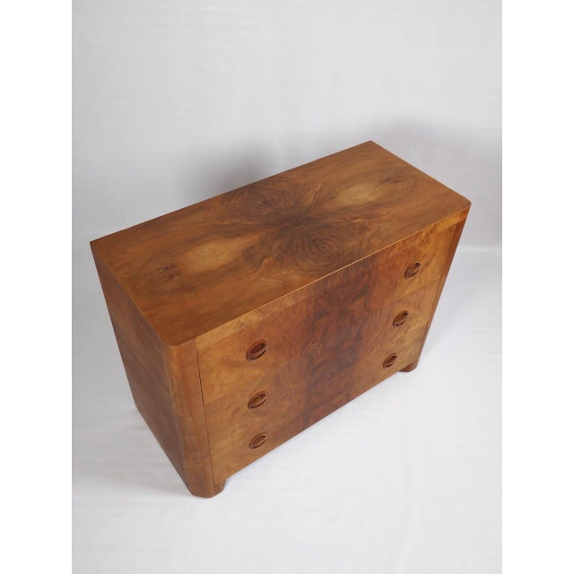 1930s Vintage Beeswing Maple Lowboy - Image 3 of 4