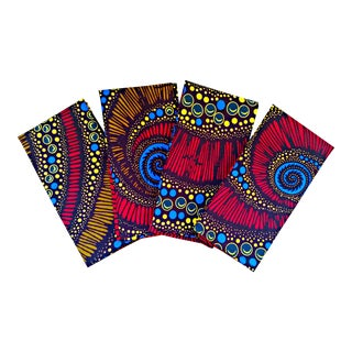African Print Fabric Napkins & Runner Set