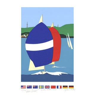 Franco Costa-Baltic Match Race-Serigraph-SIGNED