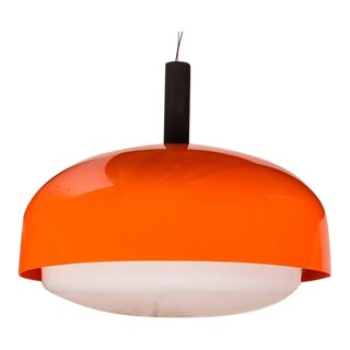 "Monumental ""KD 62"" Ceiling Light by Eugenio Gentile Tedeschi for Kartell"