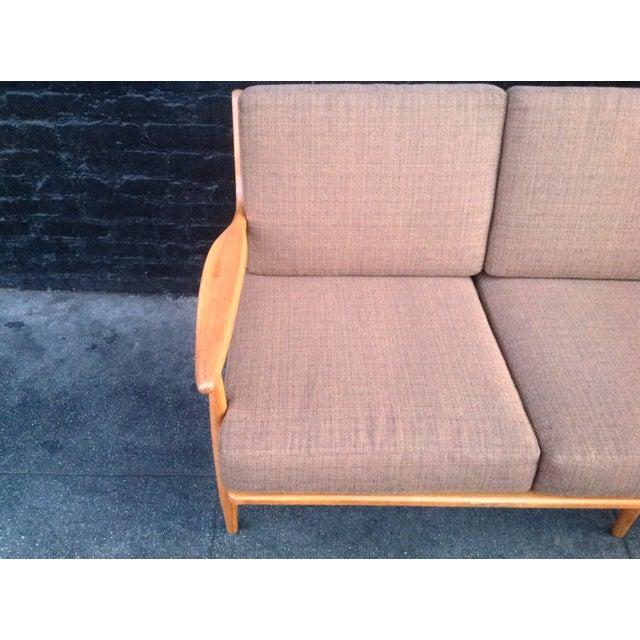 Conant Ball Mid-Century Pink Sofa - Image 6 of 8