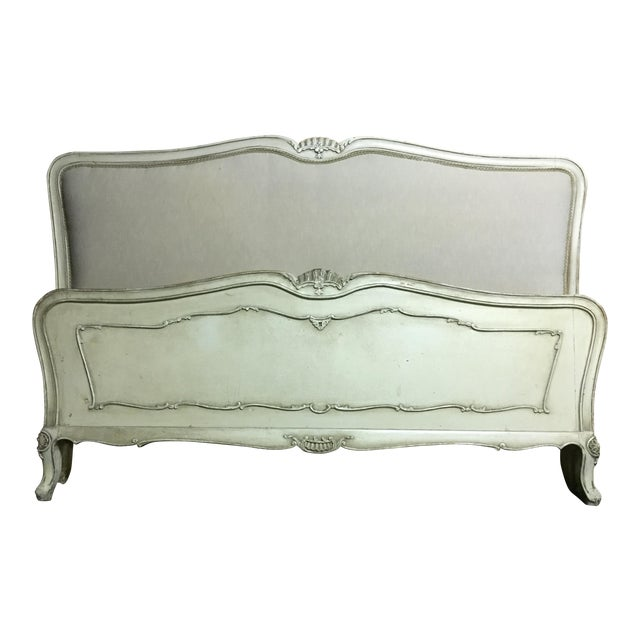 Vintage French Style Queen Bed Frame - Image 1 of 8