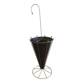 Vintage Brass Umbrella Stand