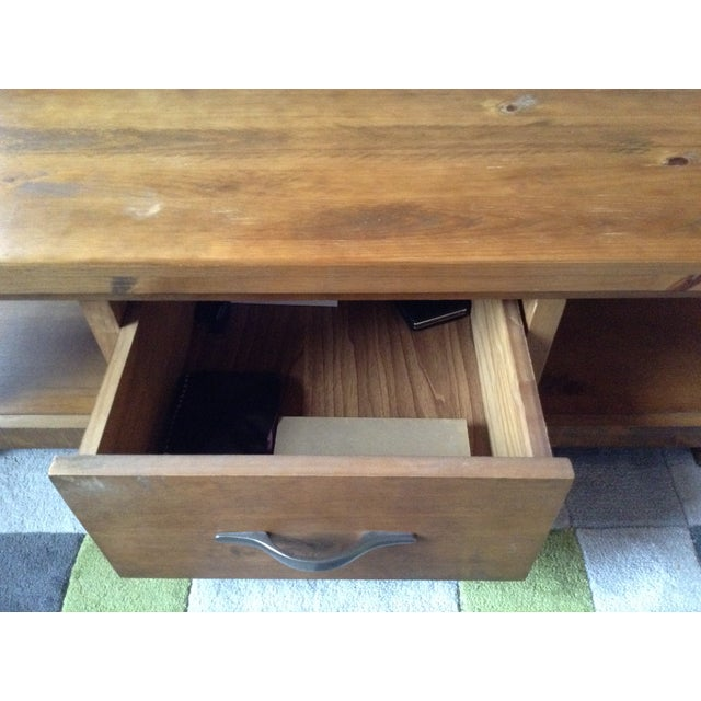 Solid Walnut Wood Coffee Table - Image 4 of 11
