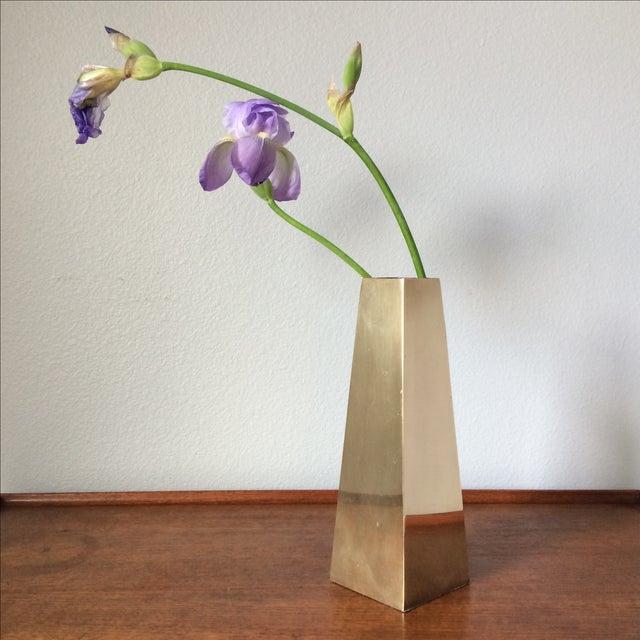 Vintage Brass Vase - Image 8 of 10