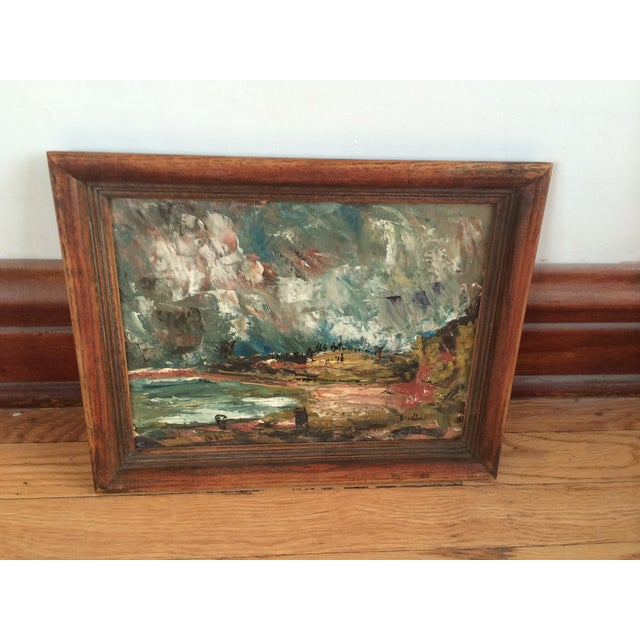 Wynn Breslin Landscape 1960s Oil Painting - Image 2 of 7