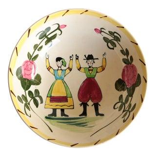 Quimper-Style Peasant Bowl