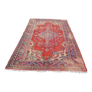 Turkish Area Rug - 5′11″ × 9′5″