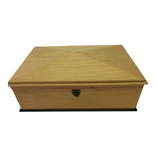 Sycamore Jewelry Box