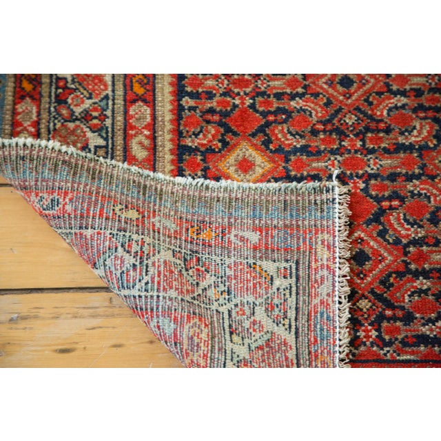 """Distressed Antique Malayer Rug - 4'1"""" X 6' - Image 7 of 8"""