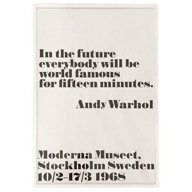 Image of Andy Warhol Print