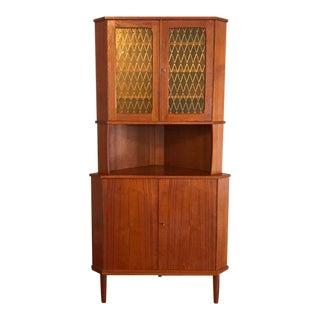 Mid-Century Modern Teak Wood Cabinet