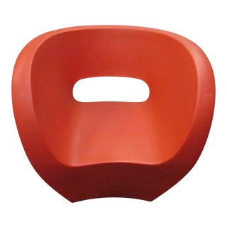 Modern Moroso Victoria & Albert Red Sculpture Chair