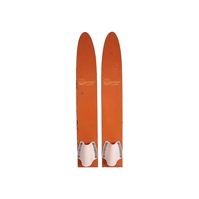 Oswego Water Skis - Pair - Image 2 of 3