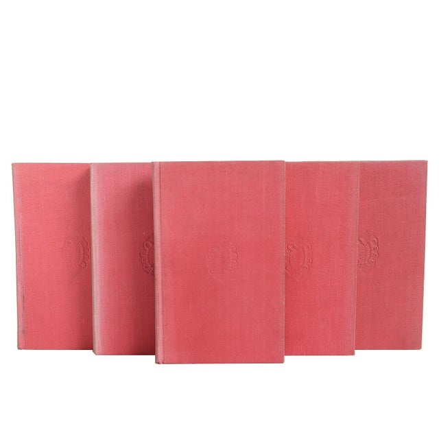"Vintage Book Gift Set: ""Pink"" Non-Fiction - Set of 5 - Image 4 of 4"