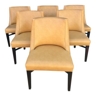 Smart Cushioned Upholstered Dining Chairs - Set of 6