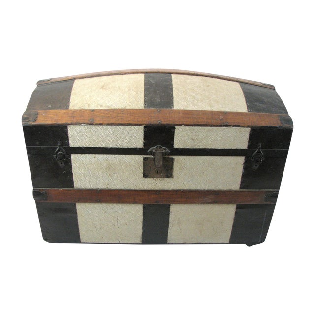 100 Year Old Saratoga Petite Dome Top Doll Trunk - Image 1 of 11