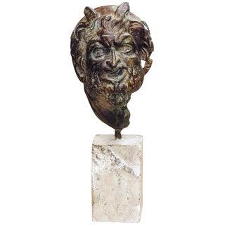 Bust of a Satyr