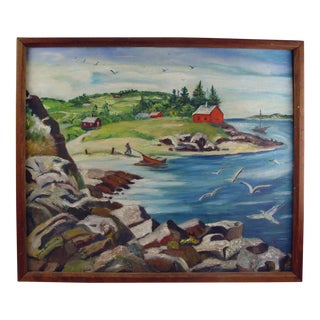 """Fisherman's Cove"" by Vera Butterworth"