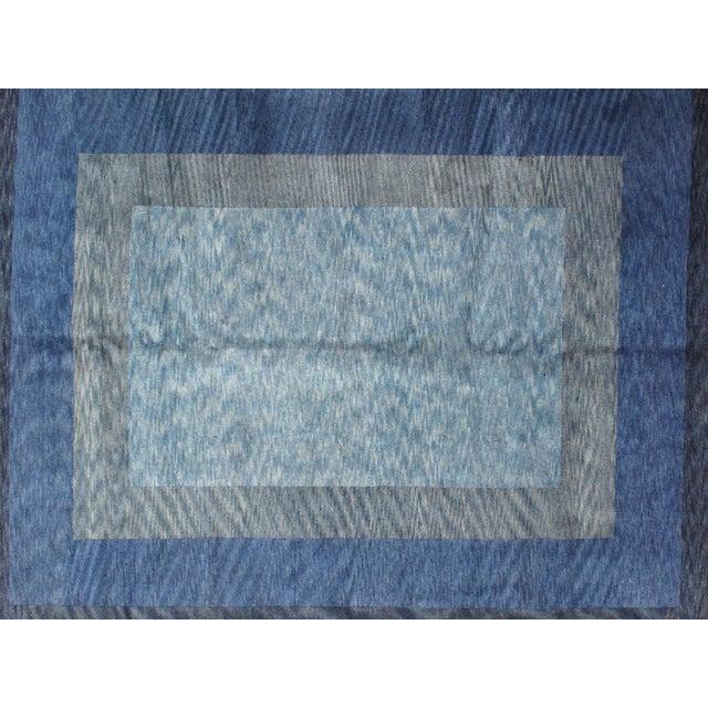 Leon Banilivi Blue Gabeh Carpet- 8′ × 10′ - Image 3 of 5