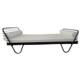 French Modernist 'Kyoto' Daybed by Mathieu Matégot