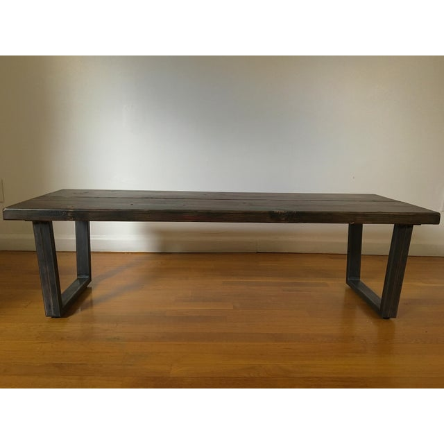 Industrial Coffee Table Ireland: Industrial Coffee Table With Tube Legs