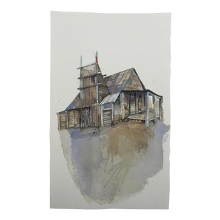 """Homestead"" Original Watercolor Painting"