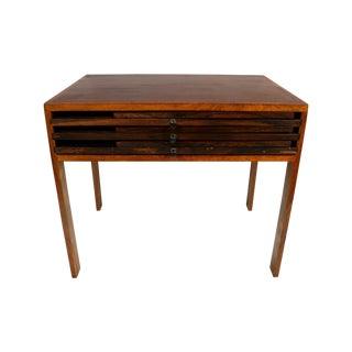 Rosewood Illum Wikkelso Danish Folding Tables Set