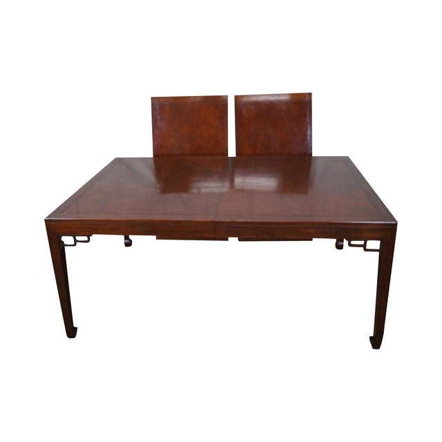 Baker Far East Collection Mahogany Dining Table - Image 1 of 10