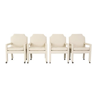 Set of Milo Baughman Dining Chairs