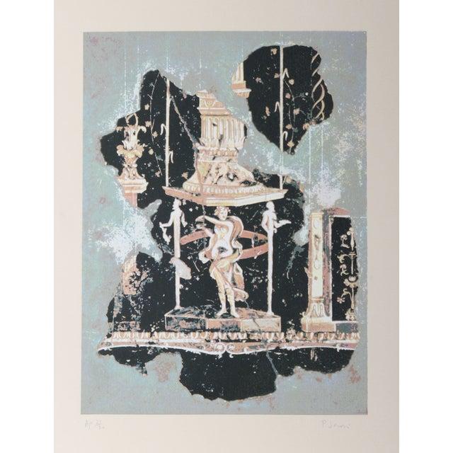 Image of Peter Saari Lithograph - Hellenistic Figure