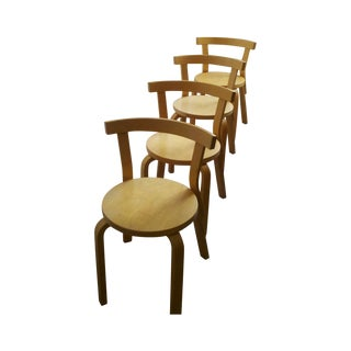 Alvar Aalto 68 Chairs - Set of 8