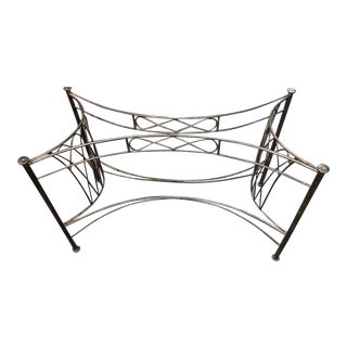 Wrought Iron Console Table Base