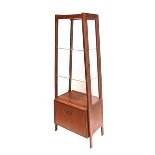 Hans Wegner 1950s Teak & Glass Curio Cabinet