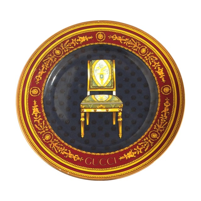 Gucci Porcellana Chair Plate - Image 1 of 6