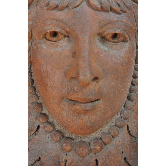 Terracotta Knights Heads - Set of 6 Corbels - Image 4 of 8