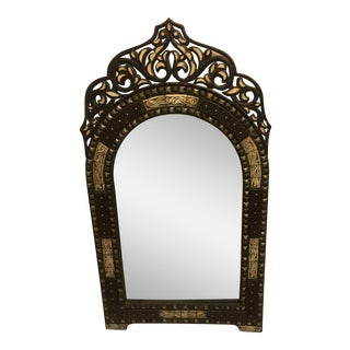 Hand Crafted Bone Inlay Morrocan Mirror
