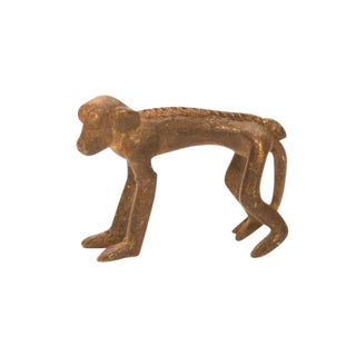 Vintage Bronze Monkey Figure