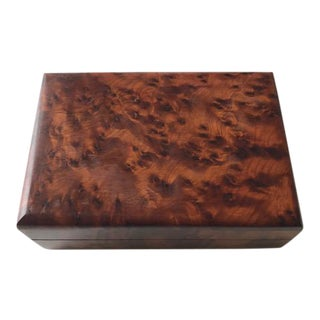 Vintage Bird's Eye Rosewood Keepsake Box