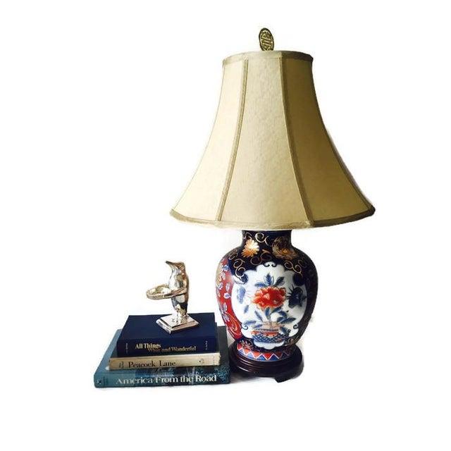 Ornate Vintage Ginger Jar Lamp - Image 4 of 6