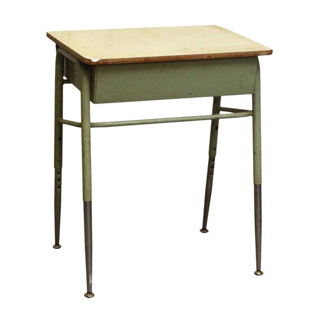 Mid-Century High School Desk - Image 1 of 4