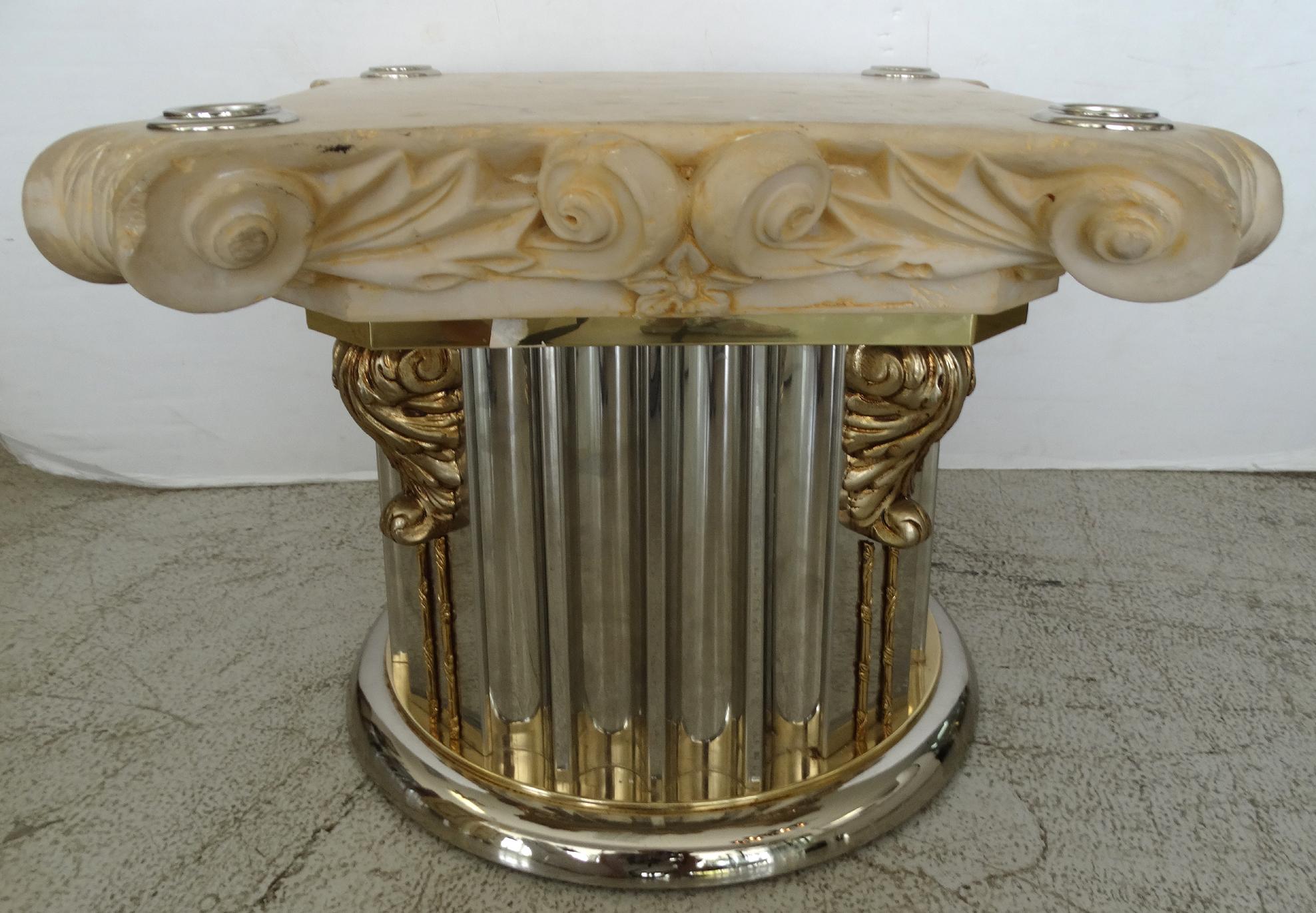 Corinthian Column Capital Table Base Chairish : 07be70f5 bdac 4f8a a8e6 0bbebc1c7831aspectfitampwidth640ampheight640 from www.chairish.com size 640 x 640 jpeg 47kB