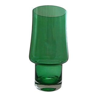 Mid-Century Riihimaki Green Vase