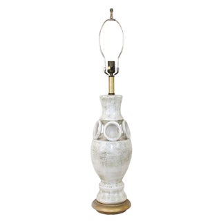 Mid-Century Frederick Cooper Italian Pottery Lamp