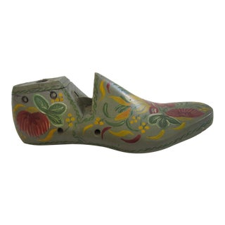 Folk Art Shoe Form