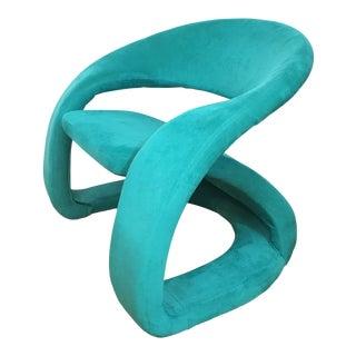 Emerald Green Jaymar Cantilever Lounge Chair
