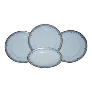 Haviland China Plates - Set of 4