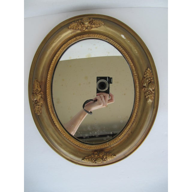 Vintage Fruit & Flower Accent Gold Mirror - Image 8 of 10