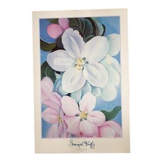 Georgia O'Keeffe, Apple Blossoms Lithograph